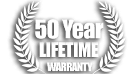 50 year warranty - turtle shell roof panels